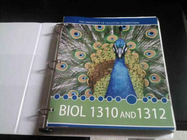 UHD Book (Biology) - $25 (Houston, TX)