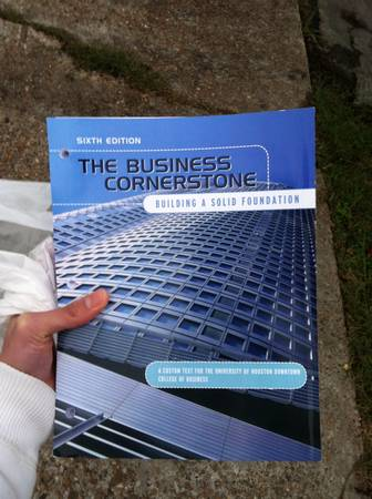 Uhd business cornerstone book BA3300 and BA3301 - $40 (Downtown)