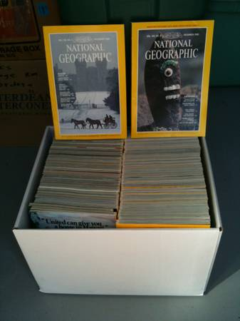 COLLECTION OF NATIONAL GEOGRAPHIC - $75 (NW)