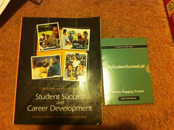 EDUC 1300 Student Success and Career Development - $45 (houston heights)
