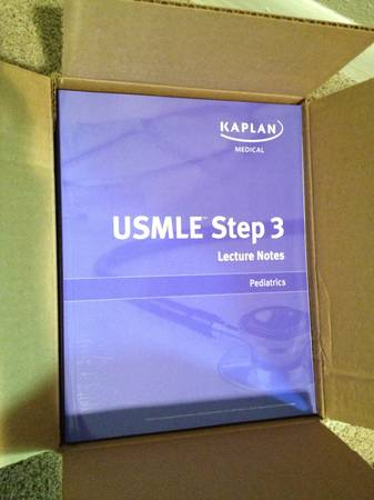 KAPLAN USMLE STEP 3 BOOKS, BRAND NEW, LATEST EDITION - $220 (MEDICAL CETER)