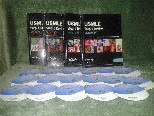 USMLE Live Video lectures Home study books - $230 (Medical Center)