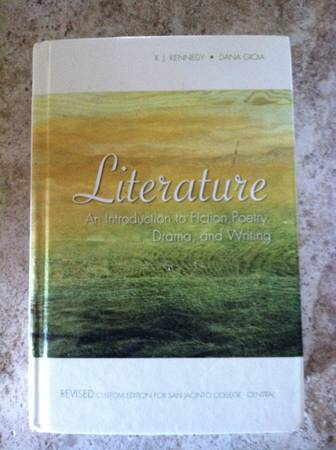 San Jacinto College Literature An introduction to fiction - $45 (la porte, tx 77571)