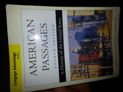 American Passages 4th Edition HCC books - $40 (hobbydowntown)