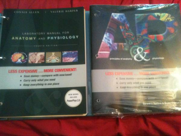 Principles of Anatomy Physiology 13th Edition (book lab) - $190 (Magnolia TX)