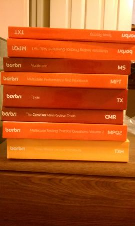 Texas Barbri Books Winter 2011 - $300 (HoustonKaty)