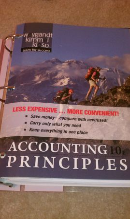 Accounting Principles, 10th Edition - $50 (Houston)