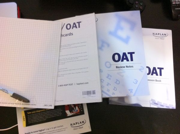 Kaplan DAT OAT Study material - BRAND NEW SEALED IN BOX - $125 (Houston)
