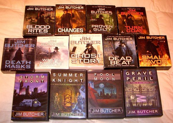 Jim Butcher Dresden Files Audio Book Bundle - $150 (West Houston)