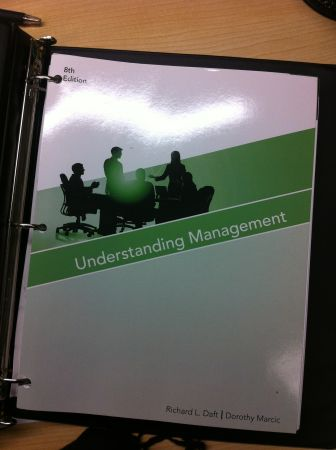 UHD Understanding Management, 8th edition, MGT 3301 - $45 (shepherdwashington, downtown)