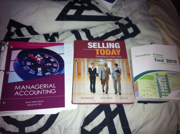 UH Textbooks Managerial Accounting - $50 (Missouri City)
