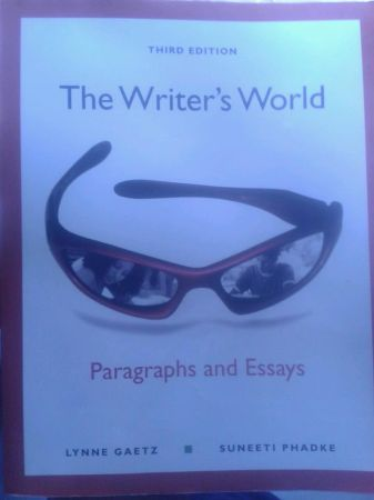 Hcc Book For sale The writers World - $20 (Spring branch)