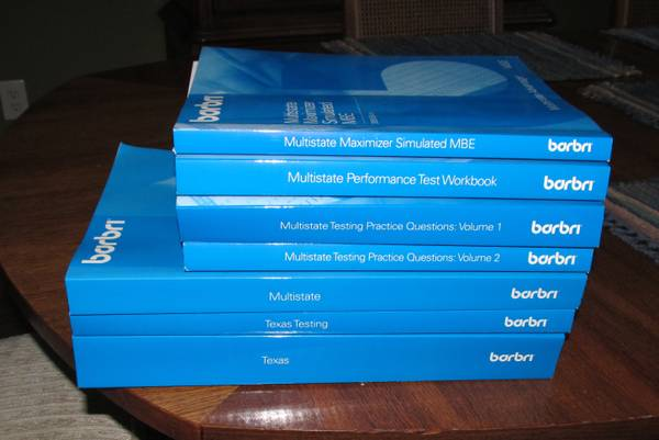 Texas Bar Exam Books, Barbri 2009 Edition - $175 (Katy)