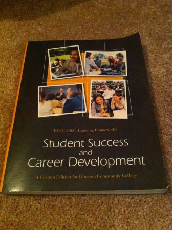 EDUC 1300 Student Success and Career Development - $40 (houston heights)
