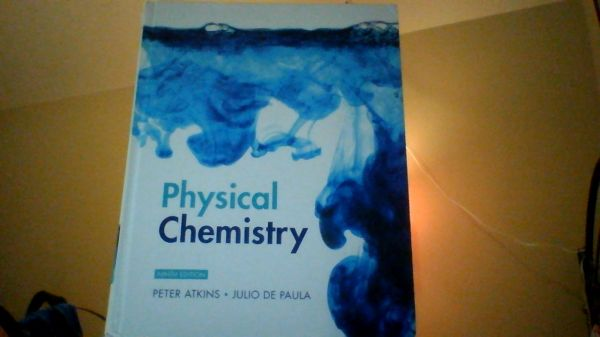 Physical Chemistry 9th Ed Atkins - $110 (Houston)