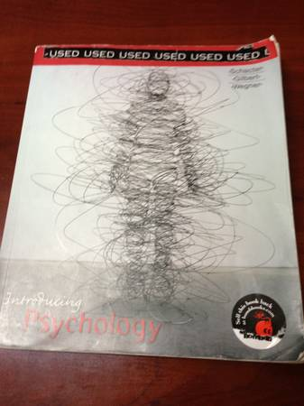 Introducing Psychology - Schacter, Gilbert,  Wegner - $30 (Katy)