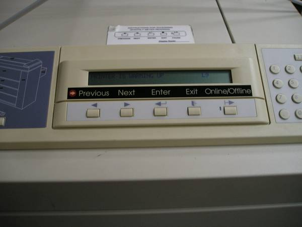 Xerox Engineering Systems Printer Synergix 8825 - $1 (SW HOUSTONHARWIN)