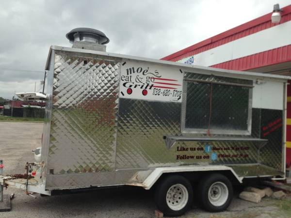 FOOD TRUCK, TACO TRILER NICE NEW EVERYTHING WORKS PERFECT - $11000 (SW)
