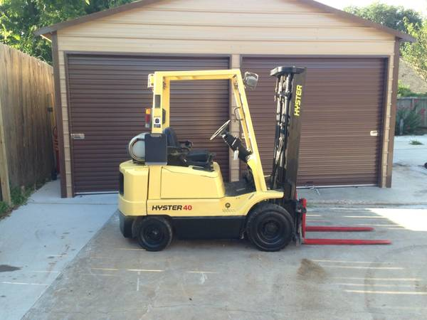 2004 Hyster Forklift 4.000LBS (Houston )