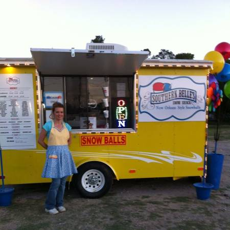 Turn Key Snow Cone Shaved Ice Business - $13000 (Humble)