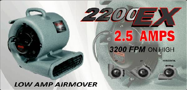 AIR MOVERS VIKING 2200 EX GFCI BRAND NEW  - $169 (SAN ANTONIO )