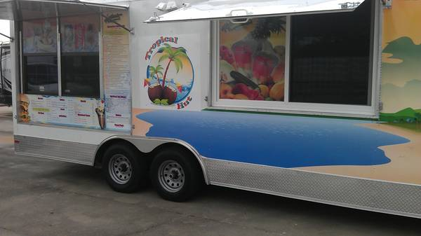 22 X 8 Mobile Food Trailer Taco Stand - $59000 (Houston TX)