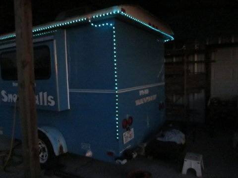 Sno Pro Sno Cone Trailer and Block Ice Maker - $15,000 OR BEST OFFER - $15000 (Danbury, Texas)