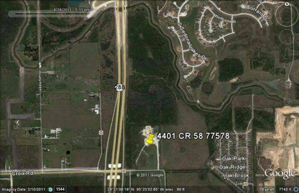 Prime Commercial 27 Acres for Sale Freeway  Frontage Owner Financing  (Houston Pearland)