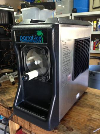 Parrot-Ice Margarita Machine for Sale - $1250 (spring tx)