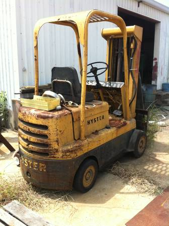 5000lb Hyster Forklift - $1650 (houston humble tx)