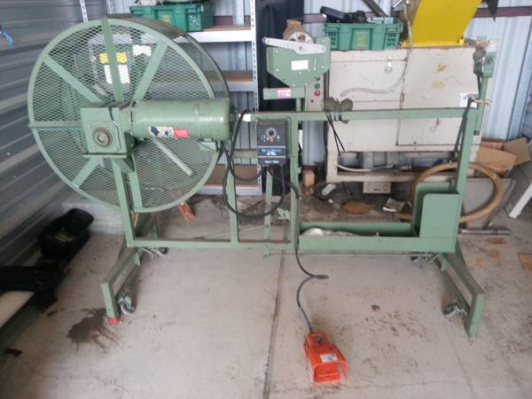 Wemco Electric Model 3150HS High Speed Coiling Machine Wire Cable Reel - $1000 (Deer Park 77536)