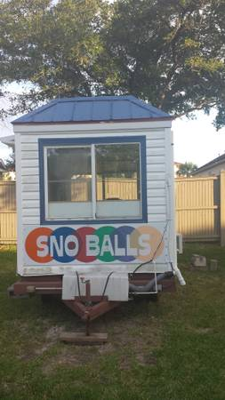 snow cone concession trailer - $8500 (league city)