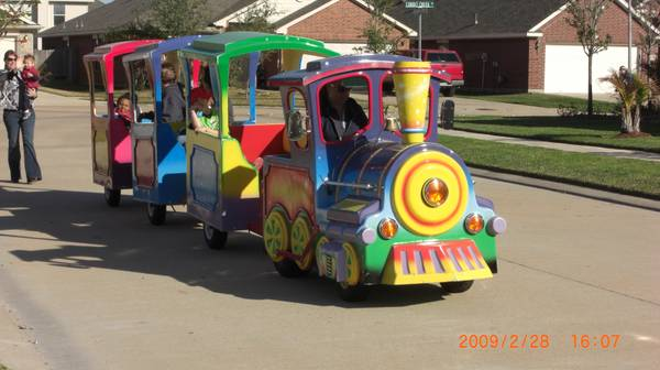 Trackless Train and More - $29000 (houston)