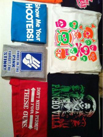 Selling Heat Press, Graphic Transfers and T-shirts - $1500 (Southeast Houston)
