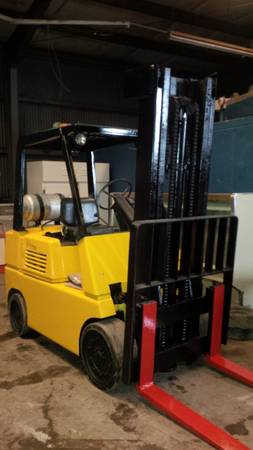 Forklift Hyster (Houston)
