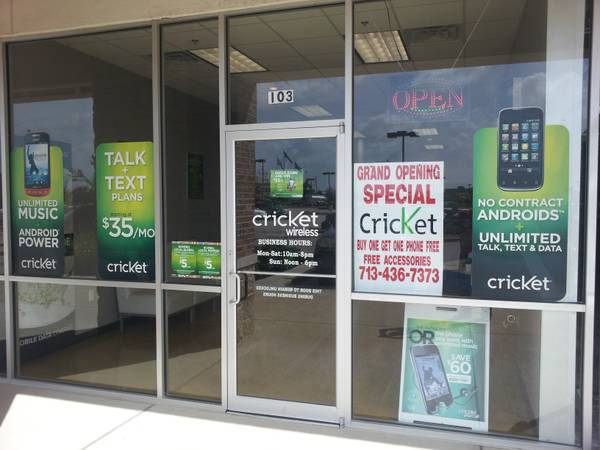 Cricket Wireless store for cheap - $18000 (Pearland)