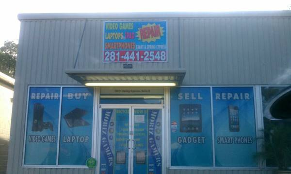 COMPUTER REPAIR OR CELL PHONES REPAIR STORE FOR SALE SPRING CYPRESS - $9000 (SPRING CYPRESS AND GRANT)