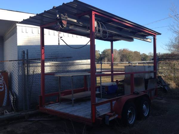 Crawfish Cooking Trailer Lowered $ - $2995 (League City Texas)
