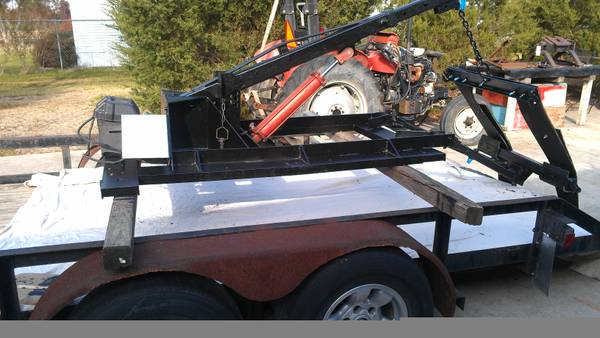 Wrecker Tow Truck Hydraulic Stick Boom Sling Wheel Lift Bed Unit Nice - $1300 (Baytown, TX)