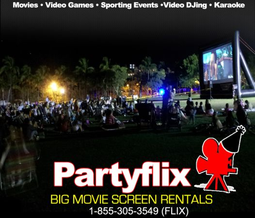 Low Cost Business Big Movie Screen Rentals - $10000 (Houston, Texas)