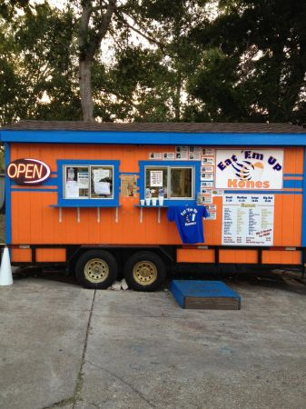 Snow cone stand on trailer plus everything you need to open - $20000 (Huntsville Texas )