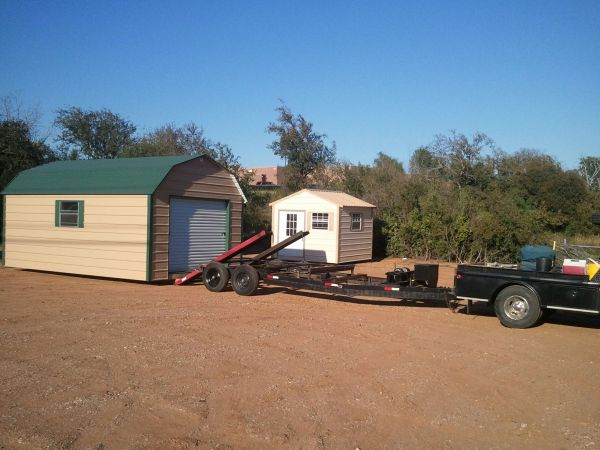 Portable Building Trailers : Portable building moving trailers for sale