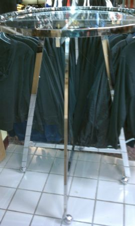 Clothing round racks store fixtures - $75 (Central Houston )