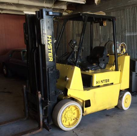 GREAT RUNNING HYSTER 8,000LB CAPACITY FORKLIFT - x00246650 (ROCKWALL)
