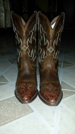 Girl Boots Tony Lama Size 4 12 GOOD FOR THE HOUSTON RODEO - x002460 (59N Eastmount)