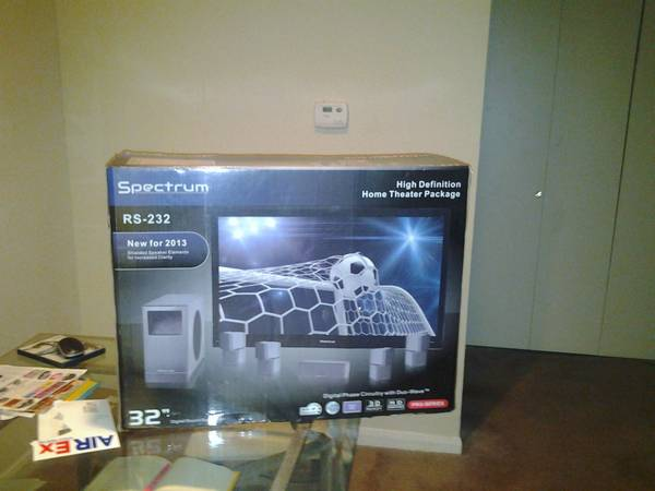 Spectrum The RS-232 High Def Home Theater System MSRP - $280 (north west)