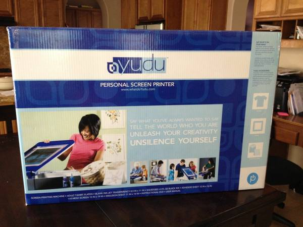 Yudu Personal Screen Printing Machine - $300 (hillcroft59 South)