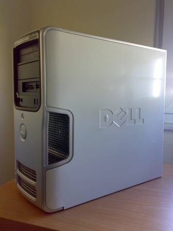 Dell Dimension E520 Desktop White. CHEAP - $150 (Houston)