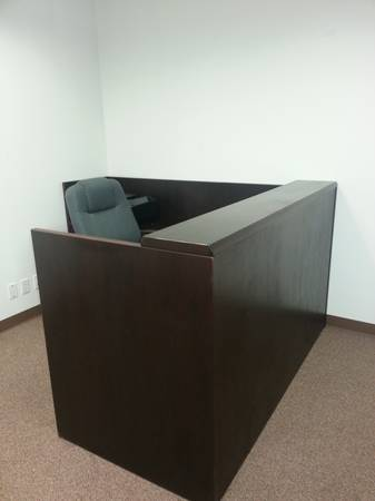 Office Furniture, Reception Desk, U-Shaped Desk, Chairs (North Harris County FM 1960)