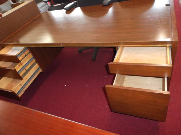 USED OFFICE DESK FOR LESS